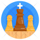 Chess Business Strategy Business Scheme Icon
