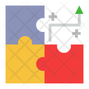 Business Strategy Planning Jigsaw Icon