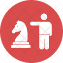 Business Strategy Business Tactics Chess Icon