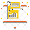 Growing Business Diagram Icon