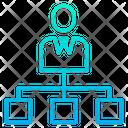 Business Organization Structure Icon