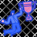 Business Success Business Achievement Business Trophy Icon