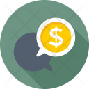 Business Talk Conversation Icon