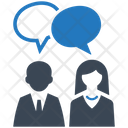 Discussion Talk Teamwork Icon