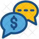 Business Talk Chat Icon
