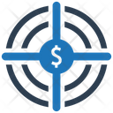 Goal Investment Money Icon
