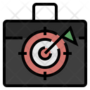 Business Target Business Goal Business Aim Icon
