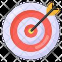 Business Target Bullseye Dartboard Icon
