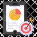 Data Analytics Mobile Analytics Statistics Icon