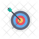Business Target Business Goal Archery Icon