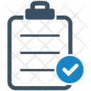 Approved Business Task Check Mark Icon
