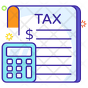 Business Tax Icon