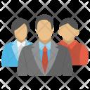 Business Team Crew Icon