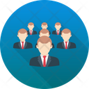 Business Team Customers Group Icon