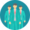 Business Management Staff Icon