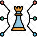 Business Technology Management Market Strategy Icon