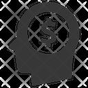 Head Speech Bubble Dollar Icon