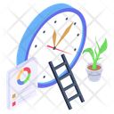 Business Clock Business Development Business Time Icon