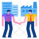 Business To Business Business Partner Company Icon