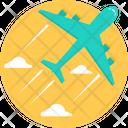 Airplane Transport Flight Icon