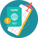 Business Tourism Passport Icon
