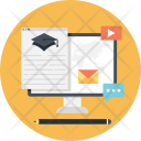 Business Training Monitor Icon