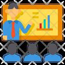 Meeting Presentation Training Icon