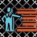 Training Plan Presentation Icon
