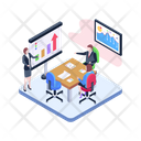 Business Instruction Business Training Business Lecture Icon