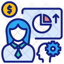 Business Training Conference Presentation Icon