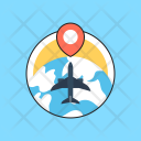 Business Travel Tour Icon