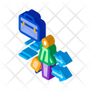 Man Business Suitcase Icon