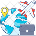 Work Travelling Business Travel Business Trip Icon