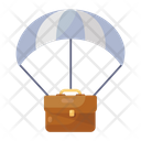 Business Travel Aircraft Air Logistics Icon