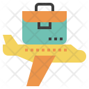 Business Travel Fly Icon