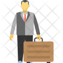 Business Travel Businessman Icon