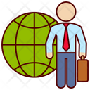 Business Traveler Icon