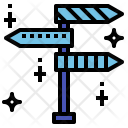 Trend Direction Mission Icon