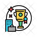 Business Trophy Business Trophy Icon
