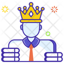 Business Tycoon Corporate Manager Business Manager Icon