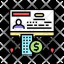 Business Visa Icon