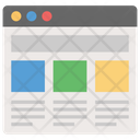 Website Design Business Website Business Profile Icon