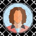 Business Woman Avatar Profile Icon