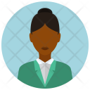 Business Formal Woman Icon