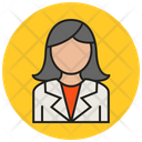 Business Women Icon