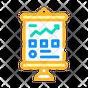 Business Presentation Color Icon