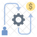 Business Working Path Icon
