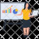 Business Workshop Employee Presentation Hr Training Icon