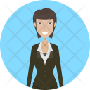 Businesslady Business People Icon