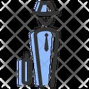 Human Businessman Agent Icon